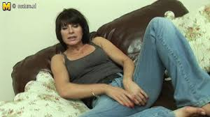 British milf masturbates alone video