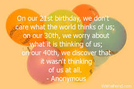 21st Birthday Quotes via Relatably.com