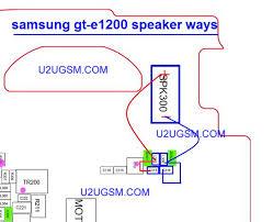 samsung gt e1200y schematic diagram samsung image e1200 speaker solution jumper problem ways earpeace on samsung gt e1200y schematic diagram