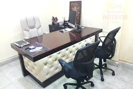 Office Interior Decoration Creative Tables Furniture Designing Services Cabin Design Images
