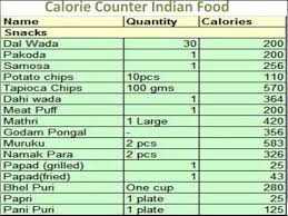 True To Life Calorie Chart For Food Pdf Calories In Indian