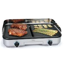 indoor built in countertop gas grill elite cuisine for the home grilling