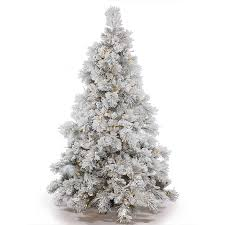 Vickerman Pre-Lit 3.5' Flocked Alberta Artificial Christmas Tree with  Cone,
