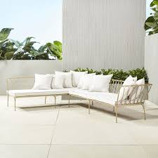 contemporary cb2 patio furniture. Le Rêve Right Arm Sectional With Ten Pillows Contemporary Cb2 Patio Furniture CB2