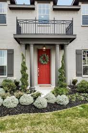 front door landscapingFront entry landscape ideas entry traditional with painted brick