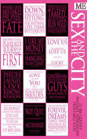 Sex And The City Signs Carrie Bradshaw Quotes Sex And The City Decorationssex And The City Party Wall Art Typography