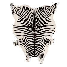 zebra hide rug allaboutyouth net