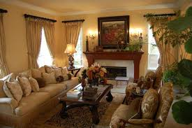 Valance Curtains With Swags And Tails Celuce Traditional For Traditional Living Room Curtains