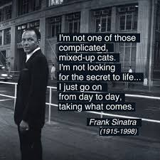 Piccsy Frank Sinatra's Quote Photo By Ted Allan 40 Alt Extraordinary Sinatra Quotes
