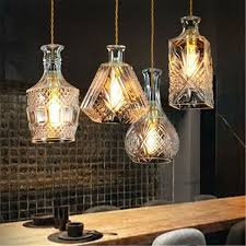 Lampe Pendelleuchte Beleuchtung Flasche Leuchte Hängeleuchte