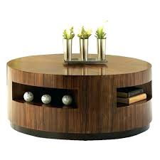decoration in wooden round coffee table popular of top large tables with storage uk