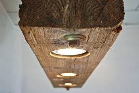 wood beam light fixture massive rustic wooden chandelier diy