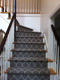 Patterned Stair Carpet Beauteous Patterned Carpet For Stairs Photos Freezer And Stair IyashixCom