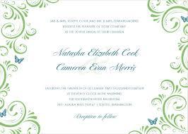 Wedding Invitation Card Sample Invitation Cards Templates Tirevi Fontanacountryinn Com
