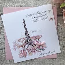 Personalised Wedding Anniversary Cards Handmade Cards