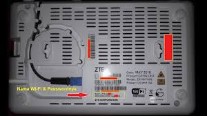 Beri tanda centang kotak kecil di sebelahnya untuk menampilkan kata sandi. Setting Wifi Indihome Cara Setting Wifi Indihome Zte F609