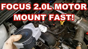 ford focus motor mount replacement fast 2016 engine vibrating at idle