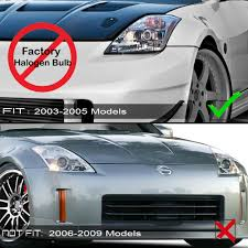 03 08 Nissan 350z Hid Model Z33 Euro Style Led Drl