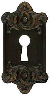 antique door locks retro vine key plate for lock by eveyd on deviantart png