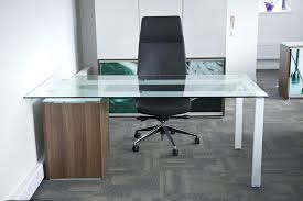 glass desk for office glass desk with wood and single legs office depot glass desk l glass desk for office