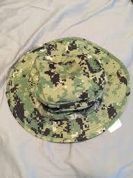 Nwu Type Iii Navy Seal Aor2 Digital Woodland Boonie Hat Sun Cover Size M