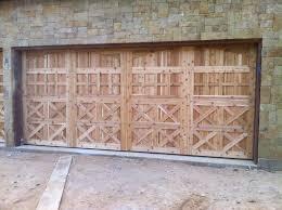 rustic garage doorsWood Garage Doors  Dallas Garage Door in Wood  Amarr Wood Garage
