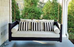 porch bed. hanging daybed