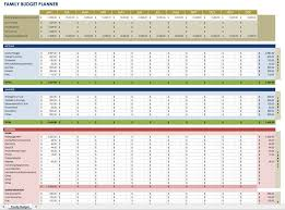 sample household budget free monthly budget templates smartsheet