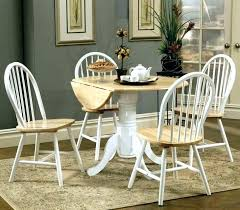 circle kitchen table farmhouse and chairs set small round sets square glass dining t