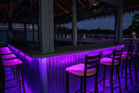 bar lighting ideas. Bar Lighting Ideas Outdoor Patio Tropical With Color Lights Led Deck