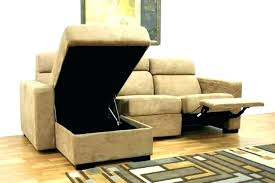 leather sectional sofa with recliners couches couch recliner and chaise storage wit
