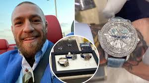 <b>Conor</b> McGregor's Brand-<b>New</b> £1.5m 'Rasputin' Watch Includes A ...