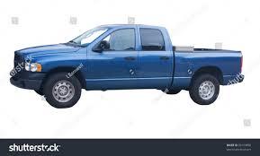 Four Door Blue Pickup Truck Diamond Stock Photo (Edit Now) 20159890 ...