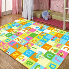 carpet letters. fresh colorful plaid baby room carpet,designer english letters kids bedroom bedside carpet,cute carpet