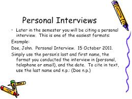 Mla Citation In Text Interview Q How Would I Cite A Personal