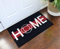 gifts for firefighters firefighter support wele home doormat fireman him uk