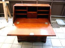 flip top desk. Flip Top Desk Secretary Early Period Plans . 7