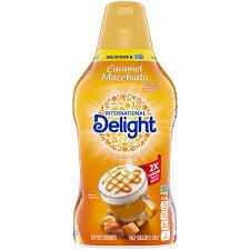 International delight, gourmet coffee creamer, french vanilla, french vanilla by dean foods company. International Delight Caramel Macchiato Coffee Creamer 64 Oz Walmart Com Walmart Com