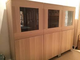 33 astounding design besta glass doors ikea combinations oak effect very good condition with shelves mirror tombo storage