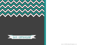 printable gift certificate templates gift certificate a black background a zig zag patterns customize