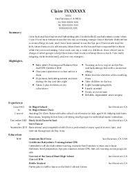 bakery and costumer service resume example  costco    tucson  arizonaclaire f