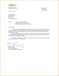 General Recommendation Letter Sample Mediafoxstudio Com