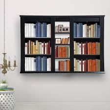 wall mounted floating display shelf