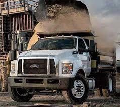 2018 ford dump truck.  2018 f650 regular cab with aftermarket dump body and 2018 ford truck
