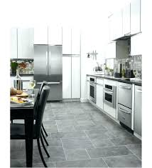 monochromatic stainless steel. Monochromatic Stainless Steel Modern Kitchen With 3 Doors Aid White .
