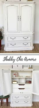 white wood wardrobe armoire shabby chic bedroom. White Armoire - Shabby Chic #furniture Bedroom Closet Vintage Wardrobe Nursery Furniture Cabinet #affiliate #sh\u2026 Wood R