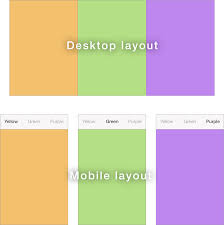 Green Layouts Different Mobile And Desktop Layouts With React Gosha Arinich