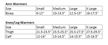 Sugoi Bike Shorts Size Chart Sugoi Size Guide