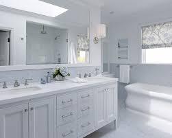 Bathroom  Sliding Door  Modern Double Bathroom Sink Ideas - White marble bathroom