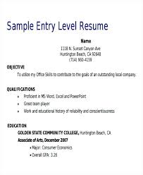 Entry Level Sales Resume Example Similar Posts Resumes Harryems Best Resume For Entry Level